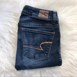 American Eagle SHORT Skinny Jeans Size 0